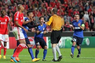 Champions League-wedstrijd Benfica tegen AS Monaco in het Luz Stadium in Lissabon, Portugal. 4 november 2014. Foto: HH