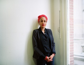 Zadie Smith. Foto: Jan Postma