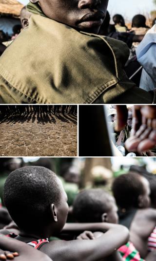Vrijlatingsceremonie in Lekuangule, Jonglei State, Zuid-Soedan. Foto's: Andreas Stahl