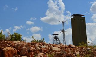 Een militaire controlepost aan de Turks-Syrische grens. Foto: Tan Tunali