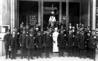 1928: De afdeling Rijksveldwacht in Den Bosch. Foto: Spaarnestad