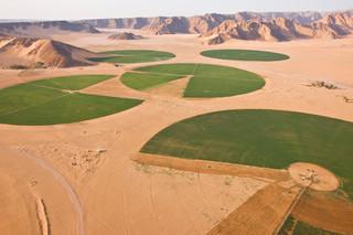 Landbouw in Jordanië. Foto: George Steinmetz / Hollandse Hoogte
