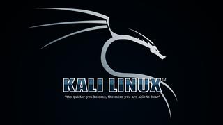 Het logo van Kali Linux