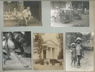 Een pagina uit het fotoalbum van Evert-Jan Nijboer.