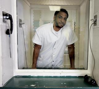 De ter dood veroordeelde Kenneth Foster in augustus 2007. Foto: Hollandse Hoogte
