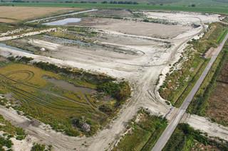 Ontpoldering van de Hedwigepolder. Foto: Buiten-Beeld / Hollandse Hoogte