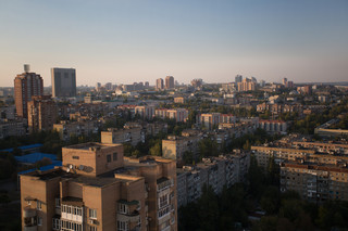 Het centrum van de Oost-Oekraïense stad Donetsk. Foto: Aleksej Filippov