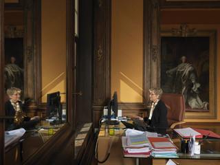 Dominique Lottin, eerste president van het Palais de Justice in Douai. Foto: Jan Banning