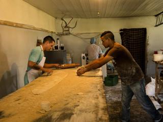 In de bakkerij. Foto: Ynske Boersma