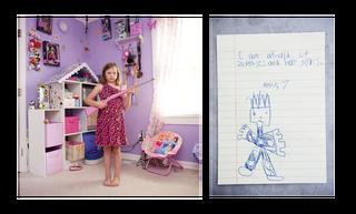 Abby, 7 jaar. Uit de serie 'My First Rifle'. Foto: An-Sofie Kesteleyn