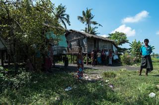 De wijk Aung Mingalar in de West-Birmese stad Sittwe. Foto: Andreas Stahl