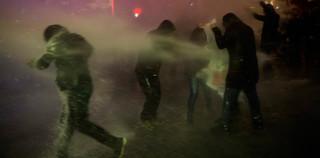 Protesten in Istanbul in 2014. Foto: Tolga Sezgin / NarPhotos / HH