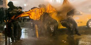 Protesten in Istanbul in 2014. Foto: Serra Akcan / NarPhotos / HH