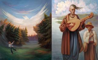 'Vliegeren' en 'Pandora' door Oleg Shupliak