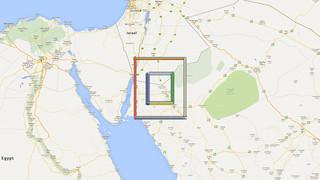 Screenshot van het project geogoo.net