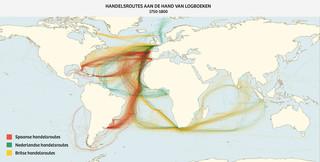 Bron: Climatological Database for the World's Oceans, gemaakt door James Cheshire
