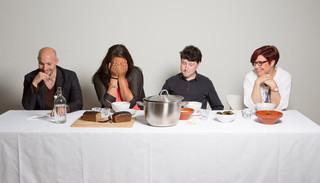 Zelim Mesidov, Sofija Fokeeva, Nikita Ananjev en Anastasia Gaasenbeek. Foto: Heidi de Gier