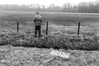 Boeren demonstreren tegen het landbouwbeleid en mestbeleid van het kabinet Lubbers II. Foto: Bert Verhoef / Hollandse Hoogte