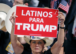 De Republikeinse Conventie, 21 juli 2016. Foto: Carlo Allegri / Reuters