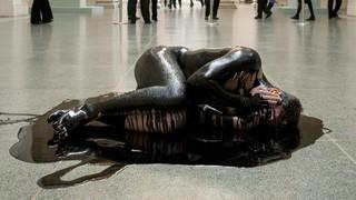 Human Cost: Liberate Tate protesteert tegen de sponsoring van de Tate Gallery door BP