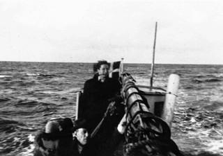 Deense joden op de vlucht naar Zweden. Foto: Palnatoke.