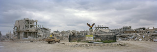 Het vrijheidsplein in Kobani