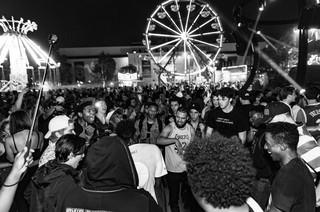 Het publiek op Camp Flog Gnaw in Los Angeles in november 2016. Foto's: Wes and Alex / HH