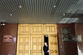 Het Nationaal Anti-Corruptie Centrum in Chisinau, Moldavië. Foto: Niels Ahlmann Olesen / Berlingske