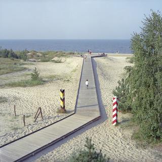 Uit de serie: 'Borderline, Frontiers of Peace', op deze foto: de grens tussen Duitsland en Polen. Foto: Valerio Vincenzo