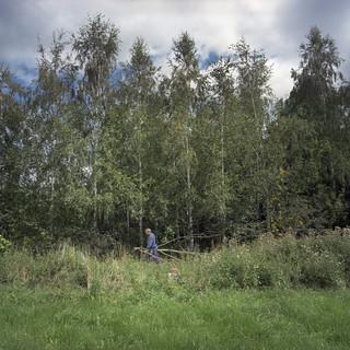 Uit de serie: 'Borderline, Frontiers of Peace', op deze foto: de grens tussen Polen en Tsjechie. Foto: Valerio Vincenzo