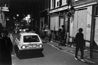 De Zeedijk in Amsterdam, een zogenaamde vrijhaven voor dealers en heroïnegebruikers, mei 1981. Foto's: Bert Verhoeff / Hollandse Hoogte