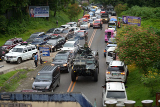 25 mei: de situatie in de Zuid-Filipijnse stad Marawi. Foto's: Ted Aljibe / AFP