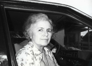 Grace Paley in 1986. Foto: Louis Shelton