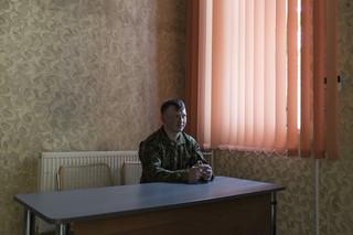 Pavel Gordijevski is een van de ouderen. 'We hebben geweren en zullen niet vluchten als het erop aankomt.'  Foto: Tomaso Clavarino