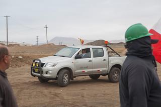 Staking door de mijnwerkers in Marcona. Foto's: Rochi Leon (voor De Correspondent)