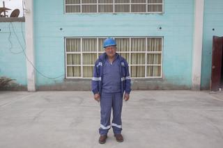 Celedonio Orihuela (62), mecanicien in de ijzermijn van Marcona. Foto: Rochi Leon (voor De Correspondent)