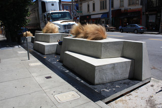 Een parklet in San Francisco. Foto: SF Planning