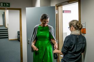 De dagen van Margrethe Vestager zijn meestal ingedeeld in intervallen van een halfuur. Minder als het echt druk is. Foto: Merlin Meuris / Zetland