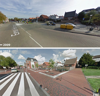Eerste Heulbrugstraat, Spijkenisse. Foto: Urb-I / Google