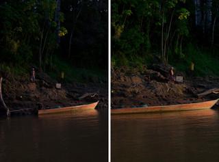 De oever van de Madre de Dios-rivier. Foto's: Rochi León (voor De Correspondent)