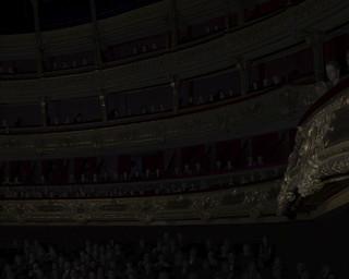 Detail uit Orchestra (2011) door David Claerbout (Sean Kelly, New York / Esther Schipper, Berlin)