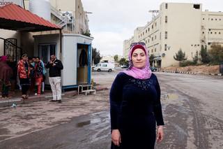 Oryana Awaisheh, 36, eigenaar van Jerash Garments & Fashion. Foto: Alisa Reznick