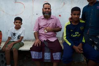 Hassan Mohammed. Foto: Andreas Staahl (voor De Correspondent)