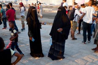Een vredesevenement in het centrum van Aden. Foto: Andreas Staahl (voor De Correspondent)