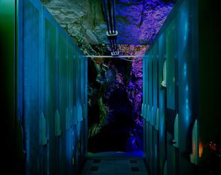 Serverkasten in datacentrum Bahnhof.se. Uit de serie 'Deposit' door Yann Mingard.