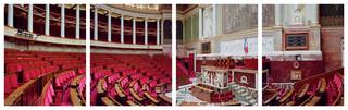 Frankrijk, Assemblée nationale. Uit de serie Parliaments of the European Union door Nico Bick.