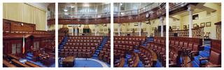 Ierland, Dáil Éireann. Uit de serie Parliaments of the European Union door Nico Bick.