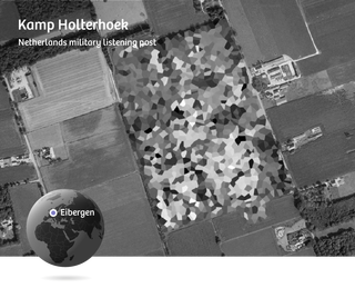 Google Maps blurs out all detail at Kamp Holterhoek in the Netherlands.