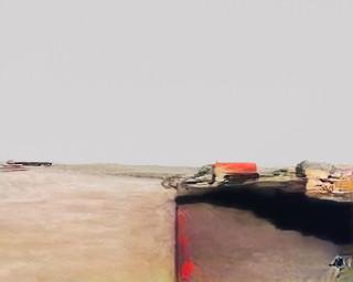 'Snelweg des Doods'. Beeld uit de serie Hallucinations door Trevor Paglen.