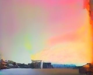 'Regenboog'. Beeld uit de serie Hallucinations door Trevor Paglen.